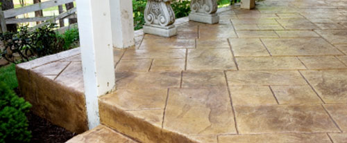 Concrete Patio Services Line